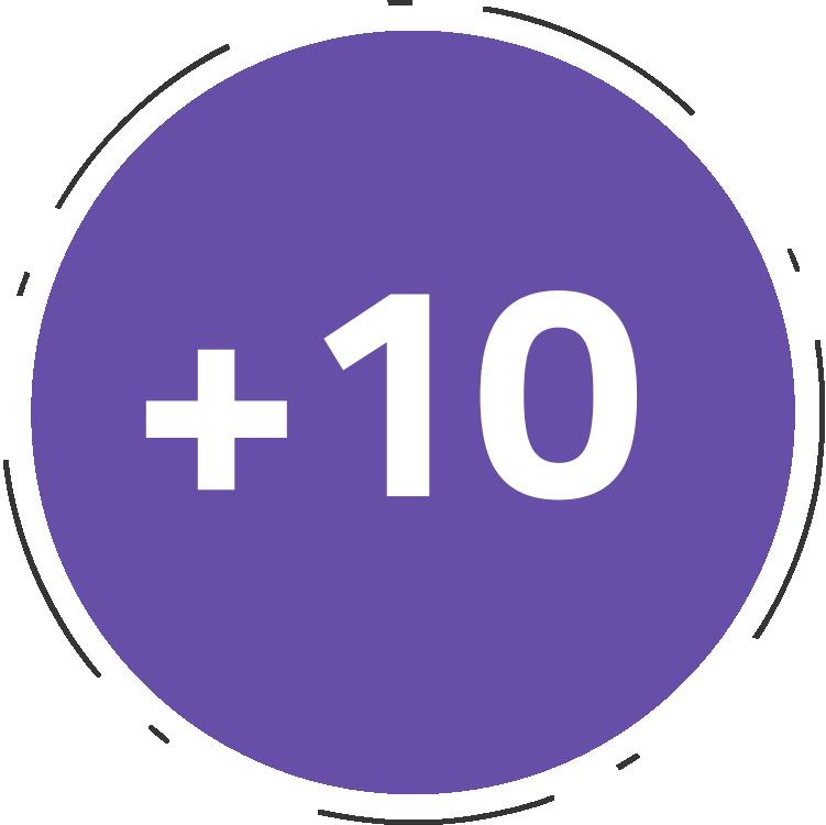 +10 anos de experiência   e-commerce