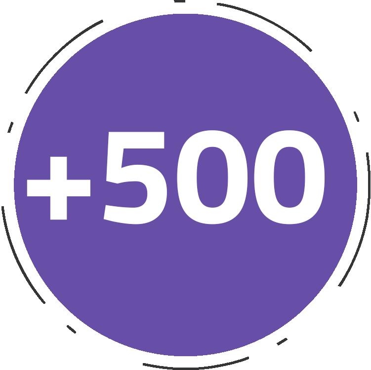 +500 projetos entregues   e-commerce